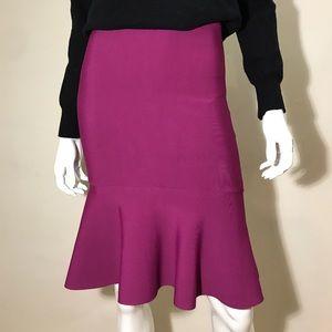 BCBGMAXAZRIA knitted skirt